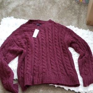 American Eagle wide weave sweater
